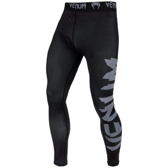 Pantalon de compression Venum Giant Noir/Gris