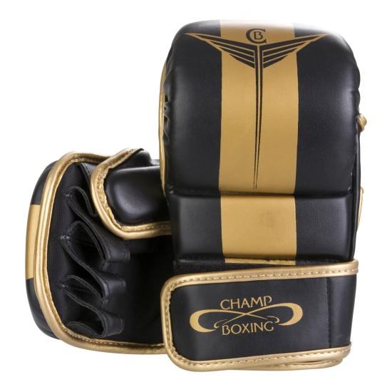 Gants MMA CHAMPBOXING ATOMIC Noir/Or
