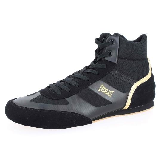 Chaussures de boxe anglaise semi-montantes Everlast Shadow - Noir