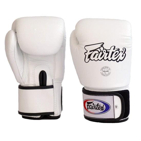 Gants de Boxe d'entrainement FAIRTEX FXV1 Blanc