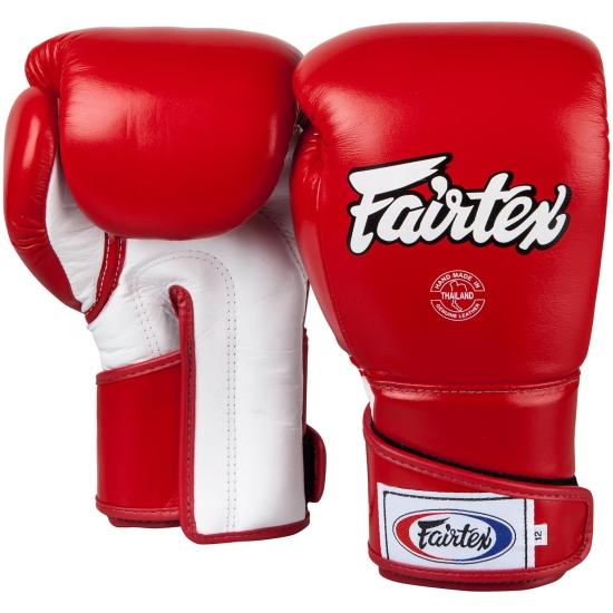 Gants de Boxe d'entrainement FAIRTEX FXV6 Rouge