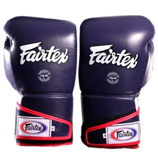 Gants de Boxe  d'entrainement FAIRTEX FXV6 Bleu