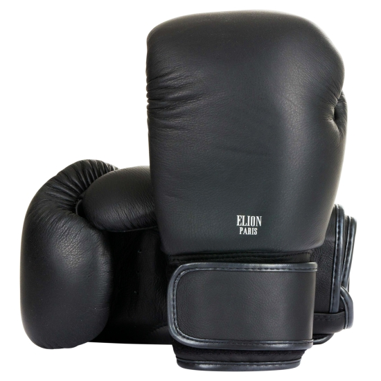 Gants de boxe ELION Collection Paris - Noir Mat