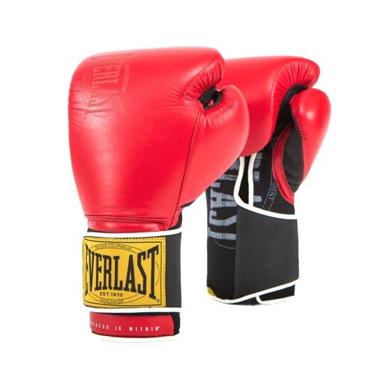 Gants de Boxe d'entrainement EVERLAST 1910 CLASSIC Rouge