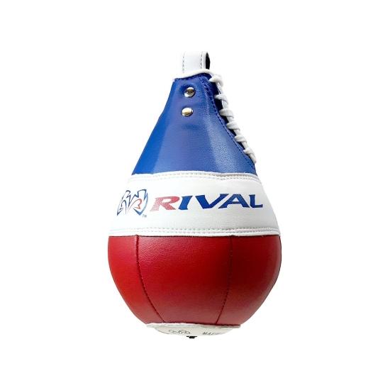 Poire de vitesse Rival Boxing 23cm - Bleu Blanc Rouge