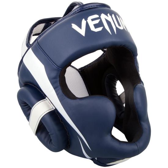 Casque de Boxe Venum Elite - Bleu/Blanc