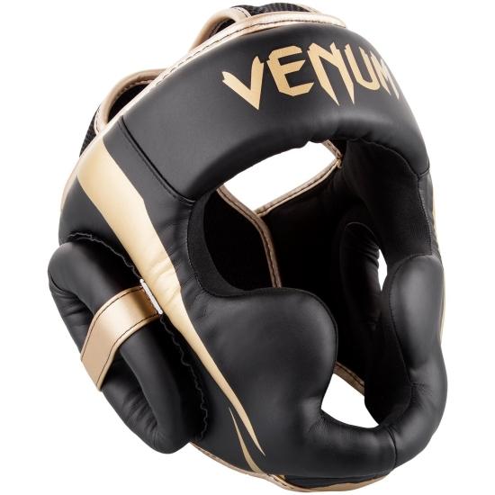 Casque de Boxe Venum Elite - Noir/Doré