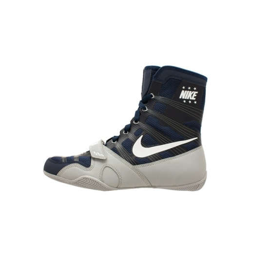 Chaussures NIKE HyperKO - Bleu Navy & Silver Mat 410