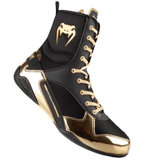 Chaussures de Boxe VENUM Elite Noir/Or