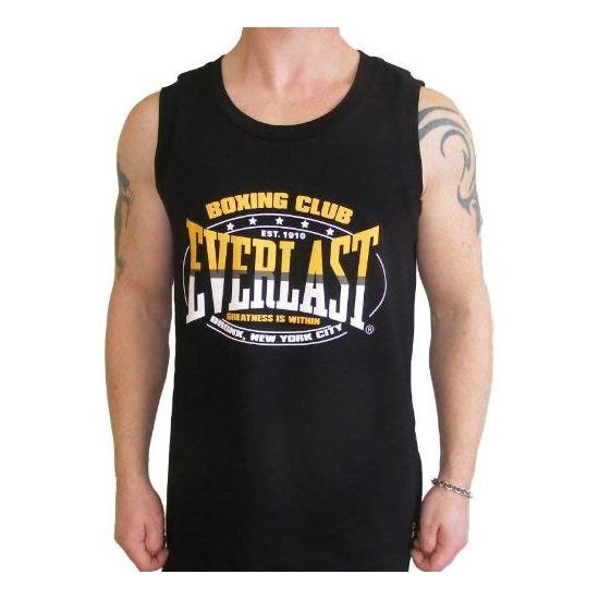 T shirt sans manches  EVERLAST Boxing Club Noir