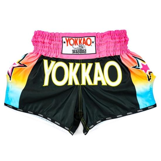 Short de Boxe Thaï YOKKAO Havana Carbon