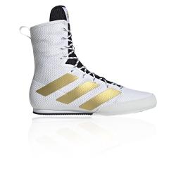 Chaussure ADIDAS BOX HOG 3 Blanc Or