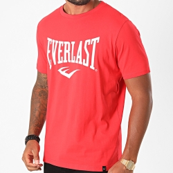 T-Shirt EVERLAST Russel  ROUGE